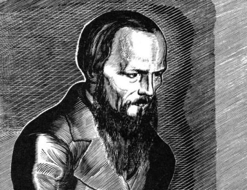Vladimir Favorsky, Woodcut of Fyodor Dostoevsky, 1929