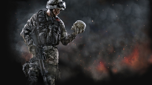warface-crytek-the-soldier-rifle-body-armor-helmet-skull-flames-dim-sum-weapons-ammunition