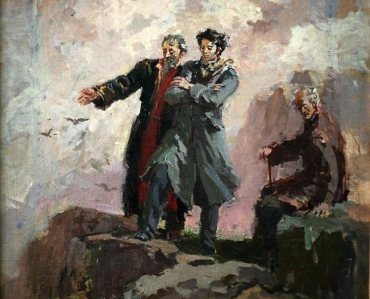 Картинки по запросу խաչատուր աբովյանի և թիվլիս