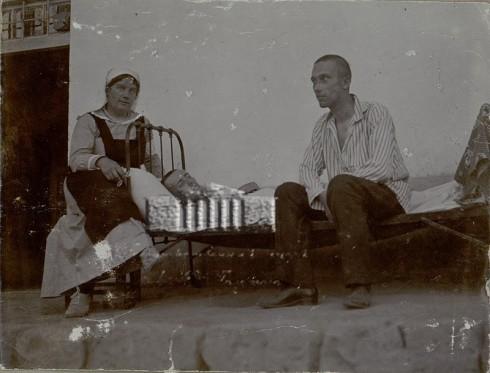 տոլստոյի դուստրը երևանի հոսպիտալում, տիֆով հիվանդ զինվորի մոտ