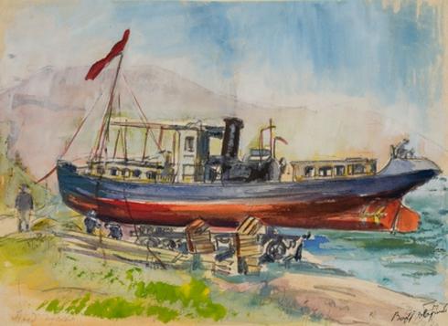 «Լուկաշին» նավը Սևանում (1930) Վարդ-Պատրիկյան Վերա