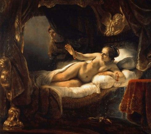 Rembrandt_-_Danae